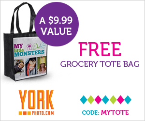 Free Grocery Tote Bag from YorkPhoto.com!