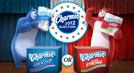 CHARMIN ULTRA SOFT VS. ULTRA STRONG 2012 ELECTION