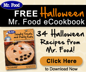 FREE HALLOWEEN eCOOKBOOK FROM MR. FOOD