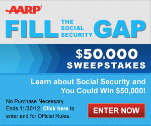 LEARN ABOUT SOCIAL SECURITY AND WIN $50K!