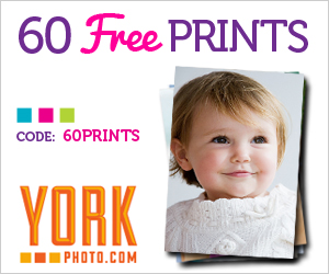 GET 60 FREE PRINTS FROM YORK PHOTO