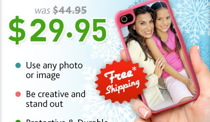PERSONALIZED PHONE CASE JUST $29.95 SHIPPED!