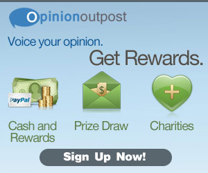 Take Surveys with Opinion Outpost and Earn Rewards Today