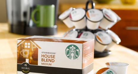 SAVE 40% ON STARBUCKS K-CUP PACKS (10 CT)