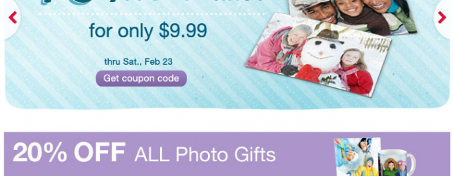 WALGREENS PHOTO DEALS THRU 2-23-2013