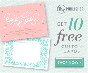 10 FREE CARDS – BABY, SAVE THE DATE or CUSTOM !