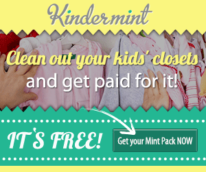 Get Paid to Clean Out your Kids Closets w/ Kindermint