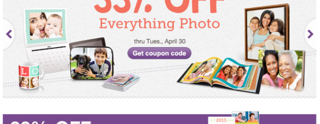 Walgreens Photo Deals thru 5-1-2013