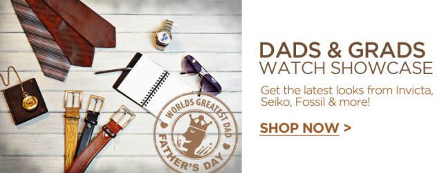 SmartBargains Dads + Grads Watch Showcase – Save up to 90% off!!