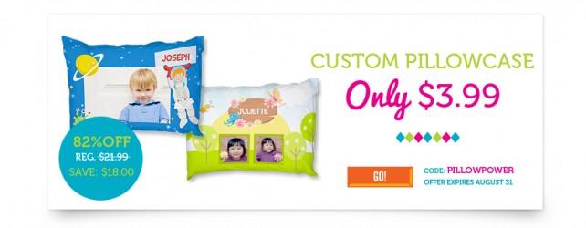 Custom Pillowcase just $10 Shipped from York Photo