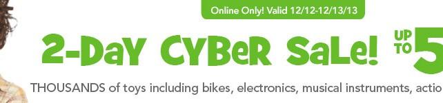 Toys R Us flash cyber sale