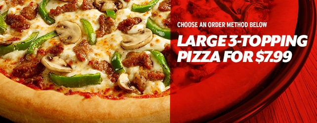 Pizza Deals for the Big Game!