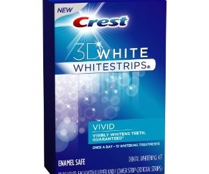 Tooth whitening on the cheap