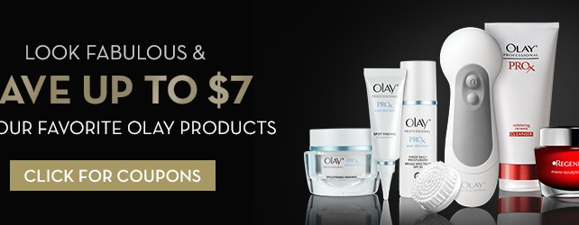 COUPONS.COM DEAL OF THE WEEK SAVES MONEY ON OLAY PRODUCTS