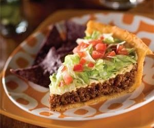 COOKING ON A BUDGET EASY TACO PIE
