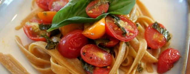 Cooking on a Budget: Free Recipe for Grape Tomato Pasta