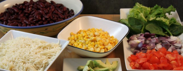 Cooking on a Budget: Easy Burrito Bar For Weeknights
