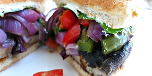 Cooking on a Budget: Portobello Sandwich for Memorial Day 2015