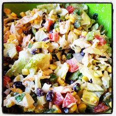 Cooking on A Budget: Chicken Taco Salad