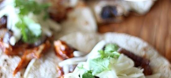 Cooking on a Budget: Crock Pot BBQ Hawaiian Chicken Tacos
