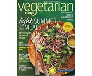 Sign Up for A Free Subscription to Vegetarian Times Magazine