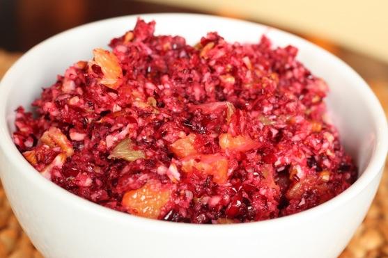 Cranberry And Orange Relish