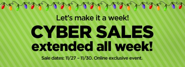 Cyber Week Coupons