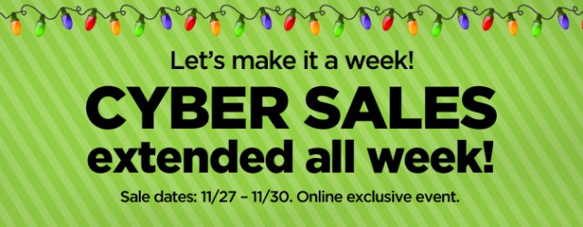 Save With These Cyber Week Coupons for 2015