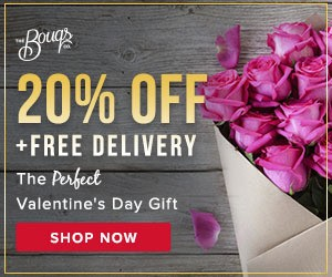 VDay Gift: Bouqs Coupon for 20% Off Flower Bouquet