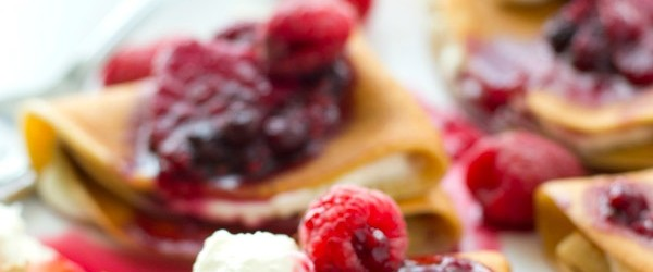 Cooking On A Budget: Mixed Berry Homemade Crepes