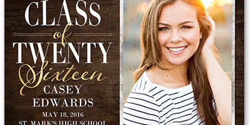 Have a College or High School Grad Soon? Check out These FREE Printable Graduation Announcements