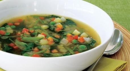 Cooking On A Budget: Veggie Minestrone Spring Soup!