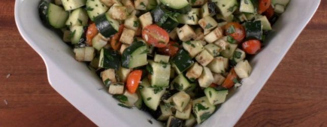 Cooking On A Budget: Eggplant Tomato Zucchini Bake