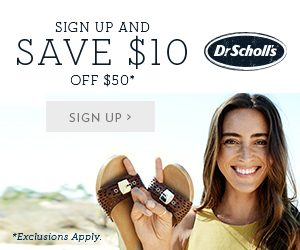 Get a Special Discount Offer for Dr Scholls $10.00 Off!