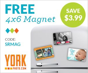 Stop What You're Doing and Check This Out! York Photo Is Giving Away a Free Custom 4×6 Magnet!