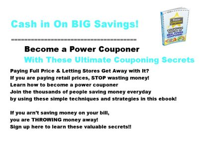 couponing secrets