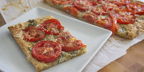 Cooking On A Budget: Triple Cheese Tomato Tart
