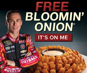 FREE Bloomin Onion TODAY ONLY (9/12) At Outback Steakhouse!