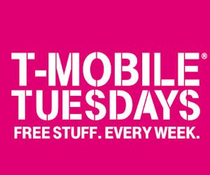 Every Tuesday, T Mobile Gives Away FREEBIES To Their Customers!