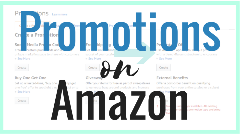 Promotions From Amazon