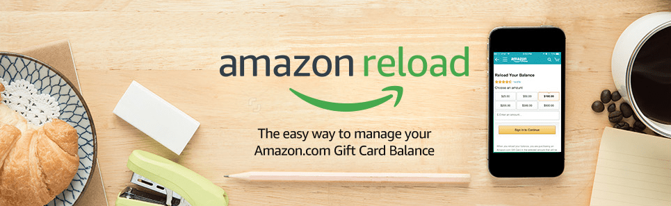 Reloading Your Amazon Gift Card